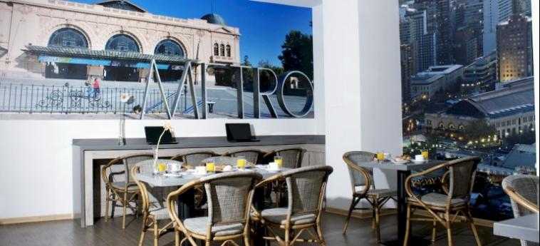 Capital Aparthotel: Caffetteria SANTIAGO DEL CILE