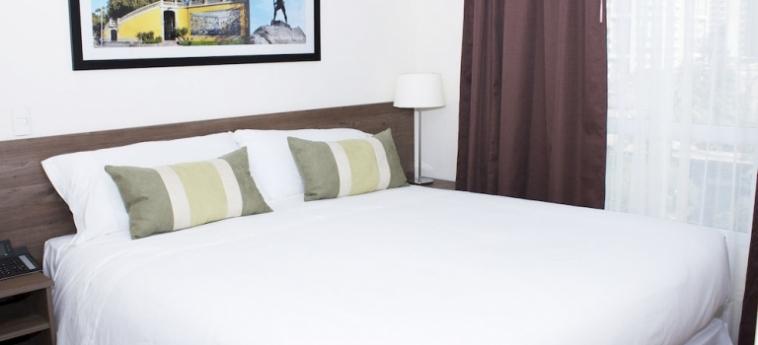 Capital Aparthotel: Guest Room SANTIAGO DEL CILE