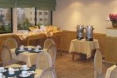 Apart Hotel Principado: Restaurante SANTIAGO DEL CILE