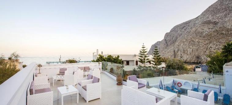 Hotel Blue Waves: Bar SANTORINI