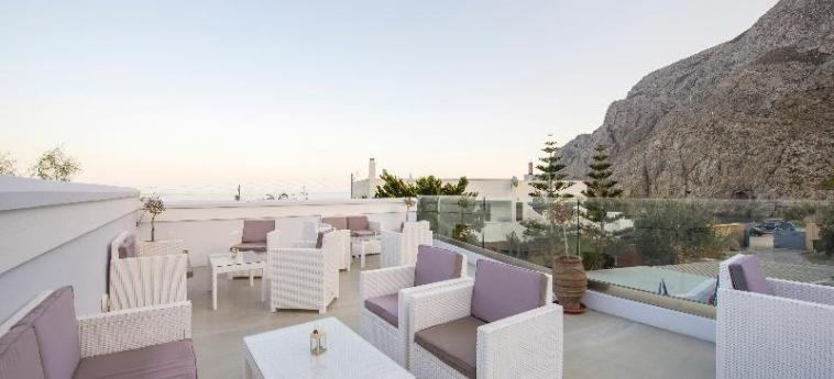 Hotel Blue Waves: Lobby SANTORINI