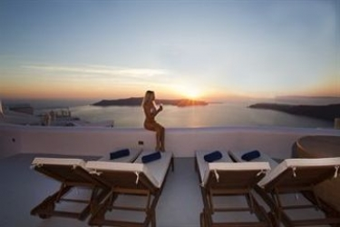 Hotel Abyssanto Suites & Spa: Chambre SANTORINI