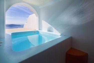Hotel Abyssanto Suites & Spa: Salle de Bains - Suite SANTORINI