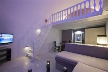 Hotel Abyssanto Suites & Spa: Dormitorio SANTORINI