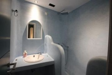 Hotel Abyssanto Suites & Spa: Fussballplatz SANTORINI