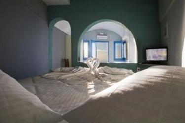 Hotel Abyssanto Suites & Spa: Wandmalerei SANTORINI