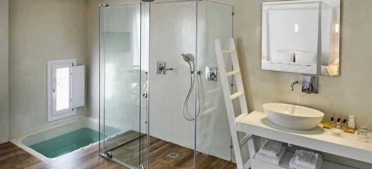 Hotel Cavo Bianco: Bagno - Suite SANTORINI