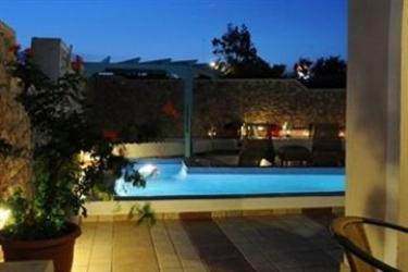 Hotel Villa Rose: Bungalow SANTORINI