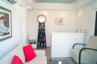 Hotel Villa Rose: Camera Matrimoniale/Doppia SANTORINI