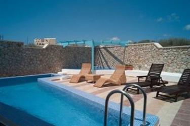 Hotel Villa Rose: Cantina SANTORINI