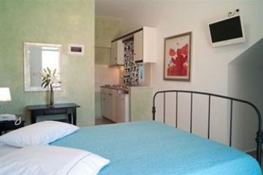Hotel Villa Rose: Posizione Hotel SANTORINI