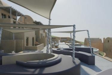 Hotel Dome Resort Santorini: Library SANTORINI