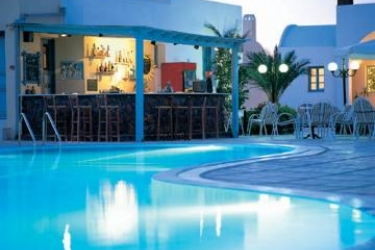 Hotel El Greco Palace & Spa: Outdoor Swimmingpool SANTORINI