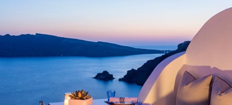 Hotel Katikies: Restaurante Panoramico SANTORINI