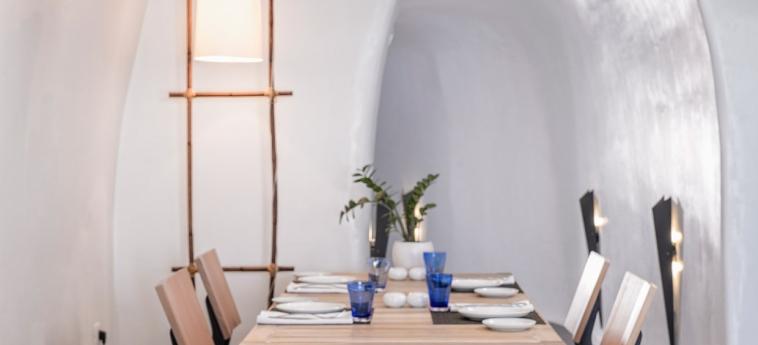 Hotel Katikies: Restaurante SANTORINI