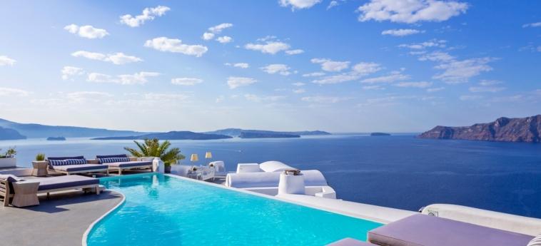 Hotel Katikies: Außenschwimmbad SANTORINI