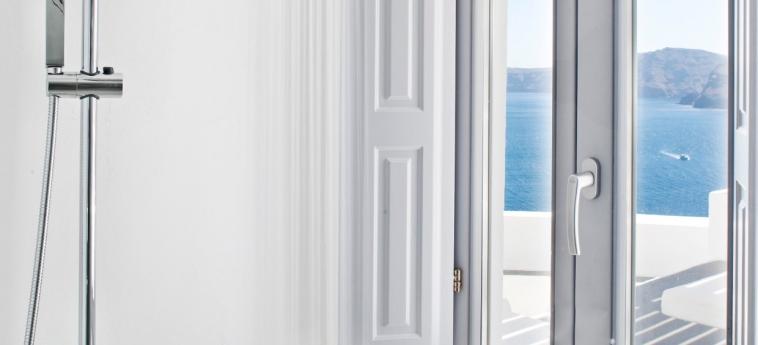 Hotel Katikies: Badezimmer - Suite SANTORINI