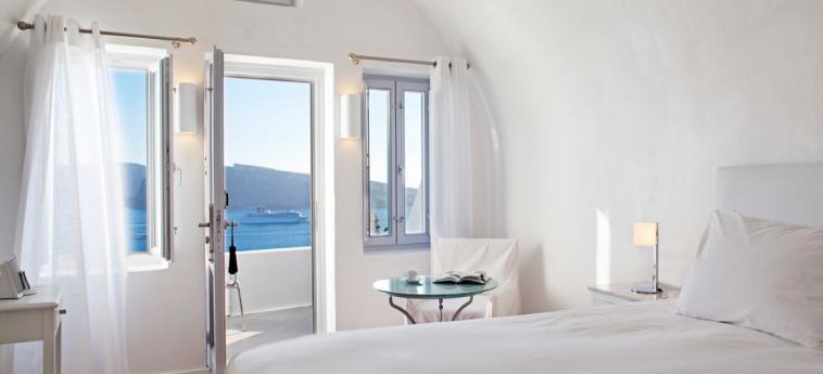 Hotel Katikies: Schlafzimmer SANTORINI