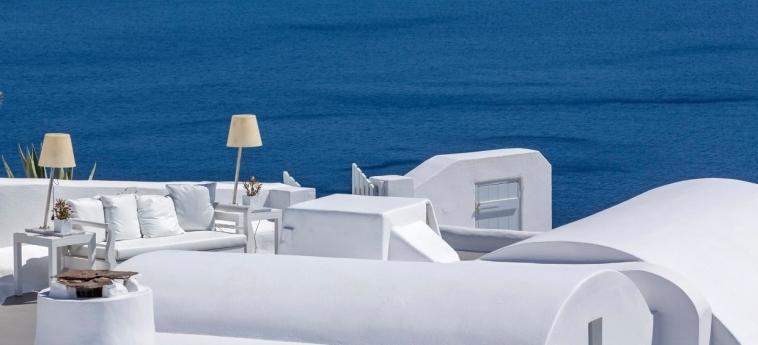 Hotel Katikies: Terrasse SANTORINI