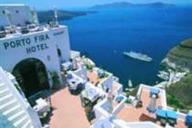 Hotel Porto Fira Suites: Außen SANTORINI