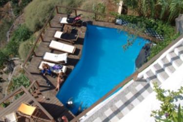 Hotel Porto Fira Suites: Außenschwimmbad SANTORINI