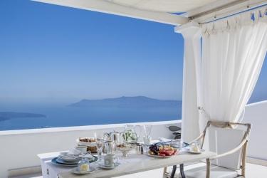 Hotel The Tsitouras Collection: Breakfast SANTORINI