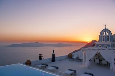 Hotel The Tsitouras Collection: Terrace SANTORINI