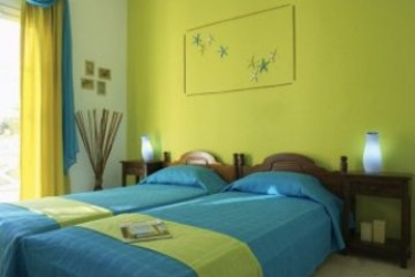 Hotel Acqua Vatos: Chambre SANTORINI