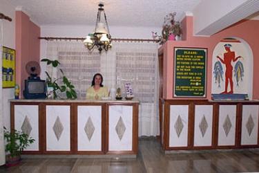 Hotel Villa Odyssey: Recepción SANTORINI