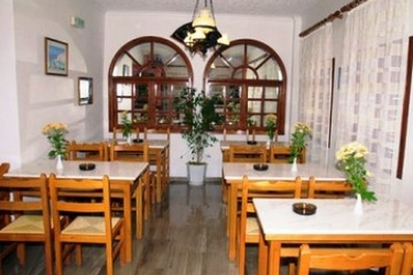 Hotel Villa Odyssey: Sala de Desayuno SANTORINI