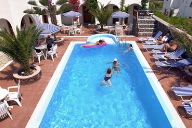 Hotel Villa Odyssey: Swimming Pool SANTORINI