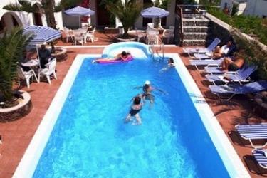 Hotel Villa Odyssey: Außenschwimmbad SANTORINI