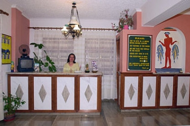 Hotel Villa Odyssey: Empfang SANTORINI