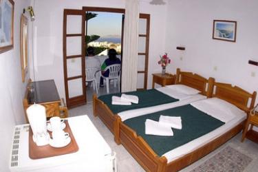 Hotel Villa Odyssey: Schlafzimmer SANTORINI