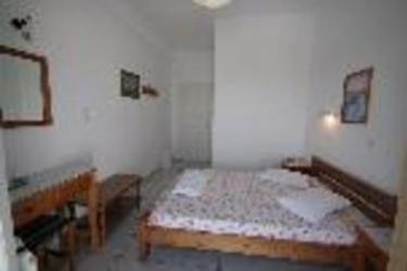 Hotel Villa Stella: Schlafzimmer SANTORINI
