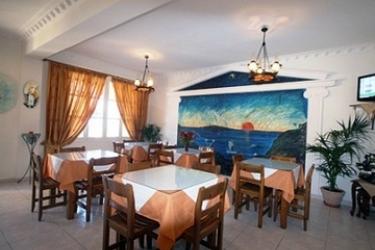 Hotel Villa Romantic: Frühstücksraum SANTORINI