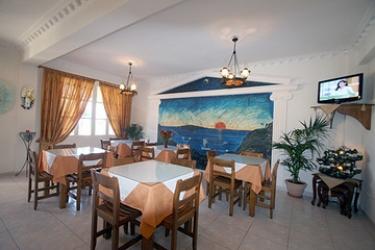 Hotel Villa Romantic: Hall SANTORINI