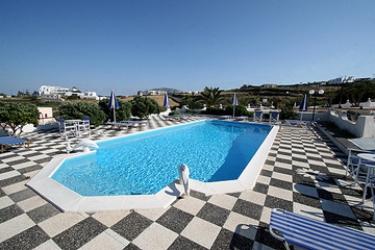 Hotel Villa Romantic: Swimming Pool SANTORINI