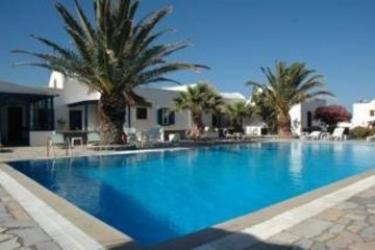 Hotel Alafuzos: Swimming Pool SANTORINI