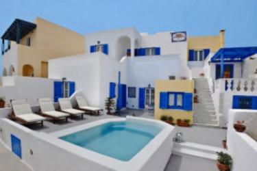 Afrodete Hotel: Esterno SANTORINI