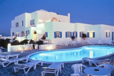 Babis Hotel: Outdoor Swimmingpool SANTORINI