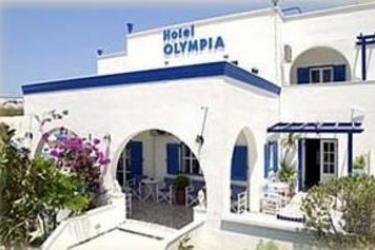 Hotel Olympia: Entrée SANTORINI