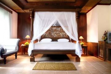 Hotel Sriphala Resort & Villa: Schlafzimmer SANUR BEACH