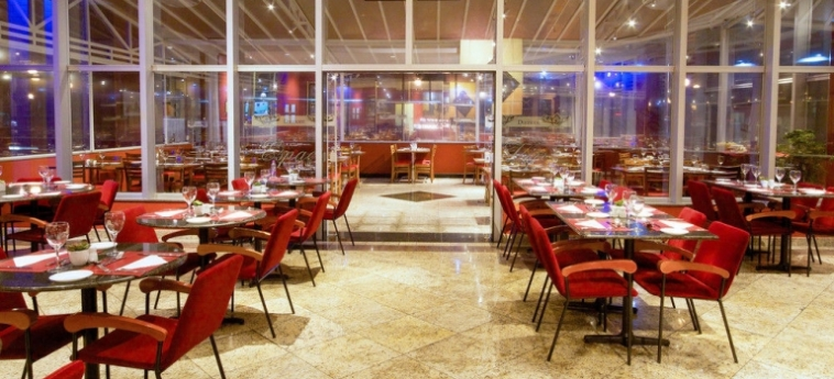 Bristol International Airport Hotel: Restaurante SAO PAOLO - GUARULHOS