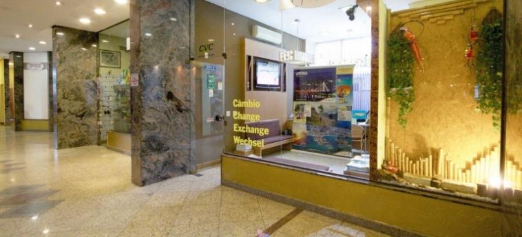 Bristol International Airport Hotel: Lounge Bar SAO PAOLO - GUARULHOS