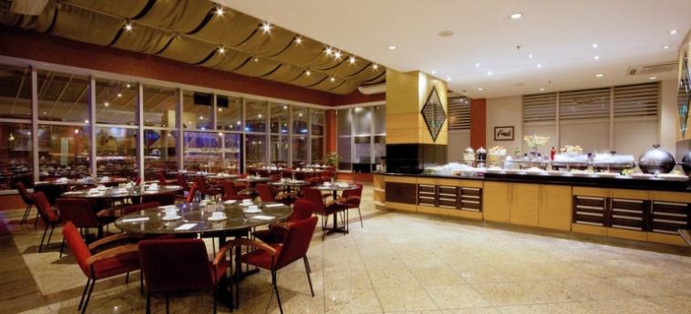 Bristol International Airport Hotel: Vista sullo skyline SAO PAOLO - GUARULHOS