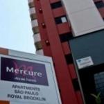 MERCURE APARTMENTS SAO PAULO ROYAL BROOKLIN 3 Etoiles