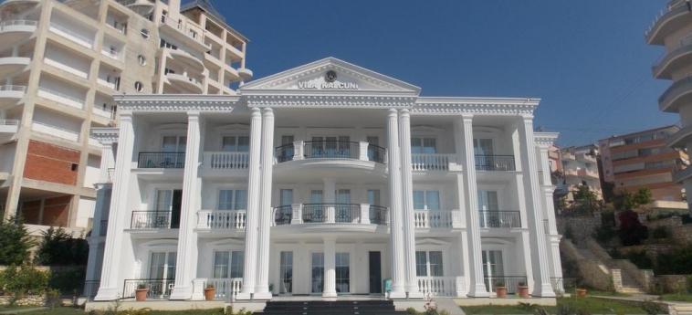 Hotel Vila Kalcuni: Extérieur SARANDA