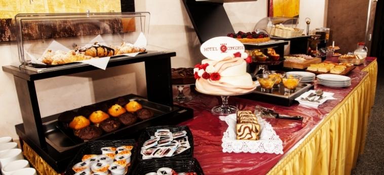 Hotel Concorde: Desayuno SARONNO - VARESE