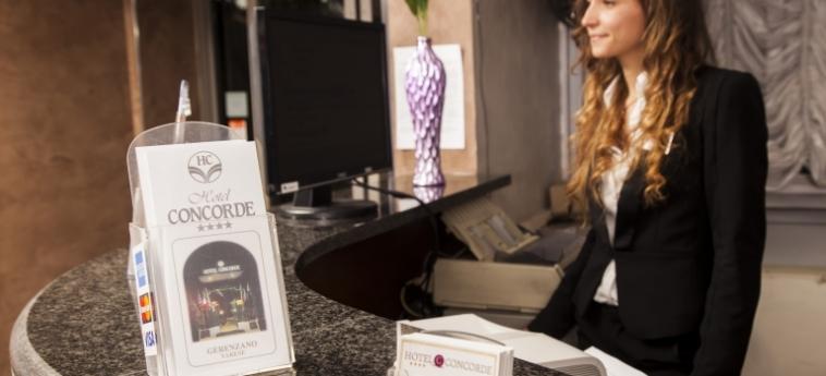 Hotel Concorde: Reception SARONNO - VARESE